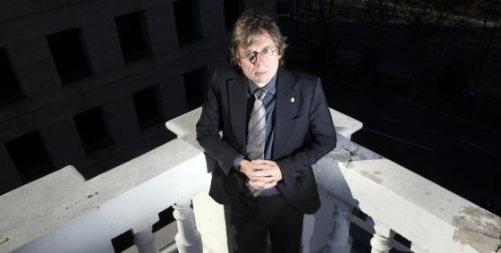 El investigador Bjorn Stevens, en Madrid. / CARLOS ROSILLO