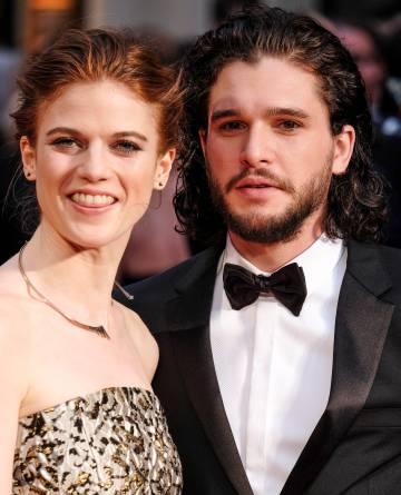 A série acabou com ele, mas isso não bate com a realidade: o amor entre Kit Harington (Jon Snow) e Rose Leslie (Ygritte) sobrevive fora das filmagens.