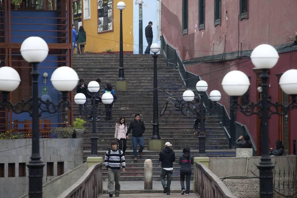 Barranco, el distrito artístico de Lima, Perú.