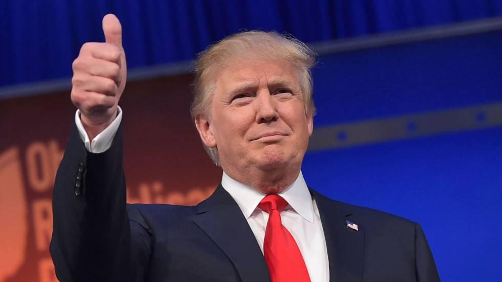 Resultado de imagen de fotos de trump presidente