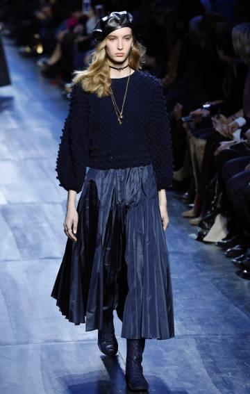 Desfile de Christian Dior este viernes en París.
