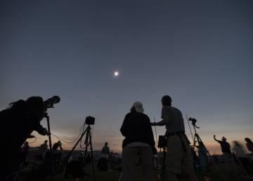 El eclipse solar 2017, en imágenes