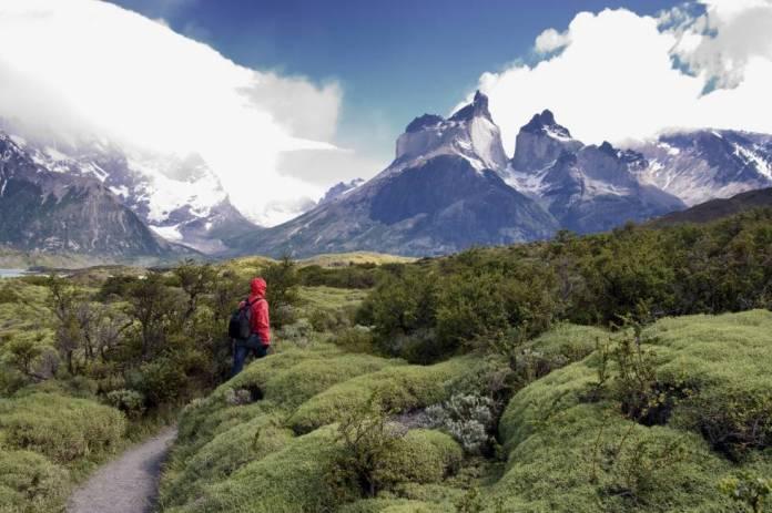 El parque nacional de Torres del Paine, un sobrecogedor territorio de afiladas montañas, valles, glaciares, ríos y lagos al sur de Chile.