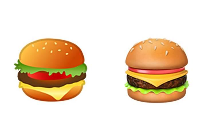 emoticono hamburguesa queso