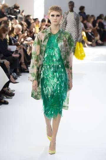 Presentación de Dries Van Noten en la Semana de la Moda de París 2018.
