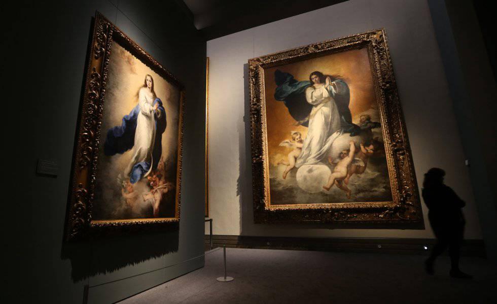 """""""Inmaculada de El Escorial"""" Exposición Murillo IV Centenario"""