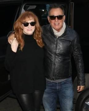 Bruce Springsteen y Patti Scialfa en octubre de 2017.
