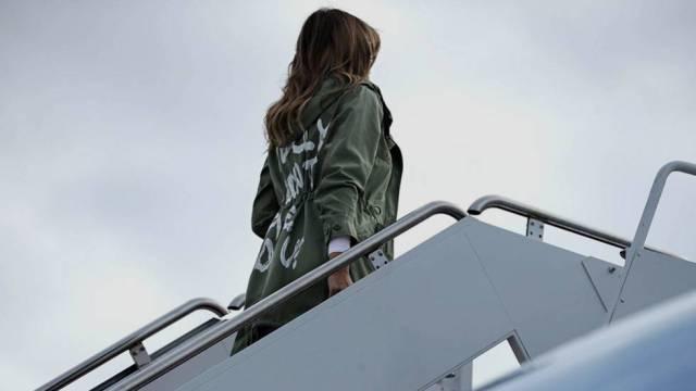 Los cinco momentos que han marcado el año de Melania Trump