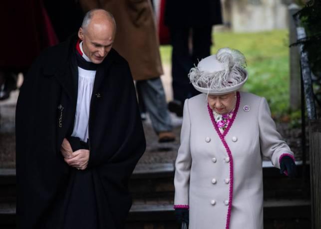 Isabel II, el día de Navidad.