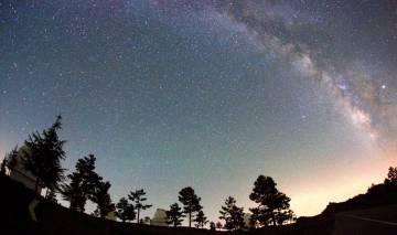 O telescópio de Calar Alto, Almeria (Espanha), utilizado para a descoberta de dois novos planetas extrassolares.