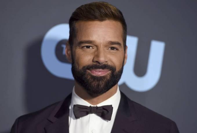 El cantante Ricky Martin.