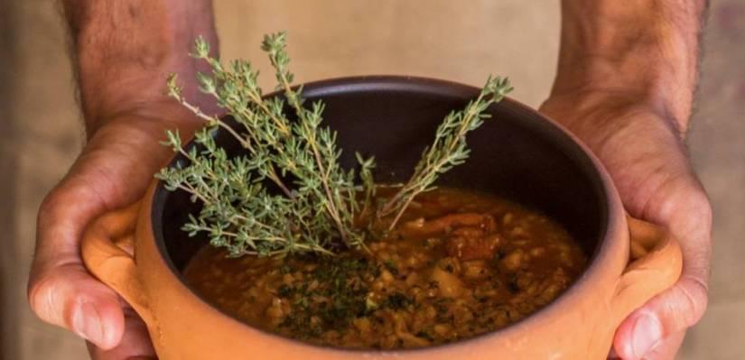 A stew from Texeda (Gran Canaria), by Borja Marrero.