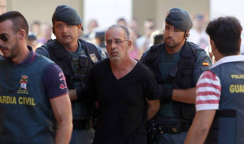Ahmed Chelh, arrested in 2015 for the murder of Eva Blanco in 1997.