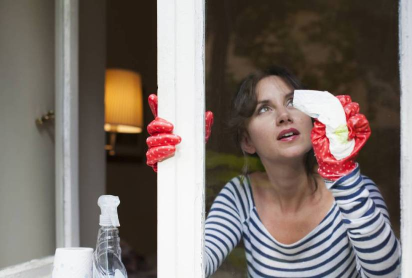 how to disinfect the house
