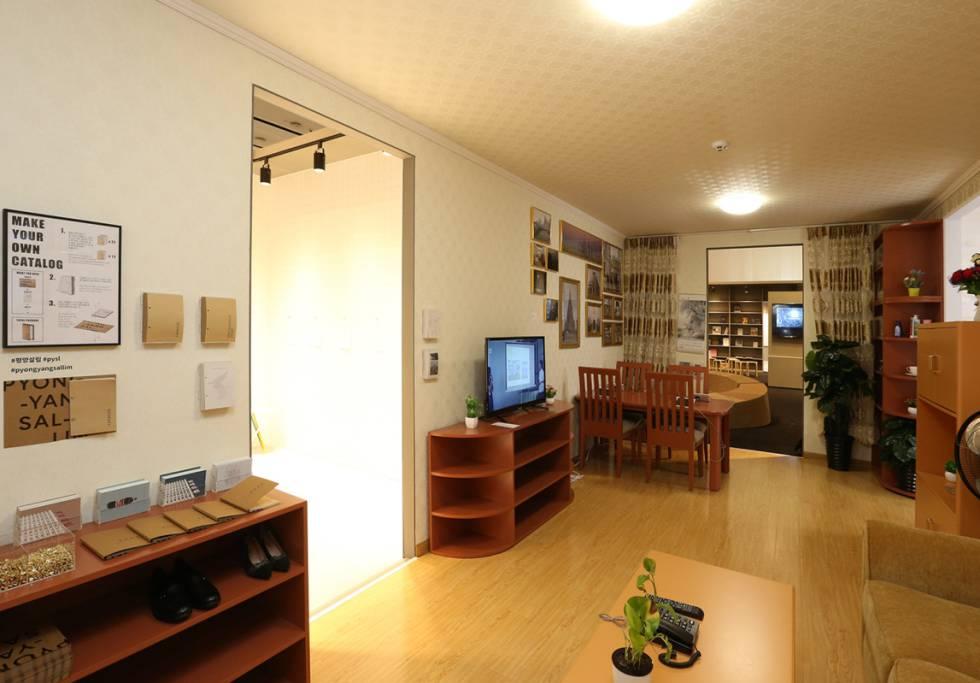 interior house north korea