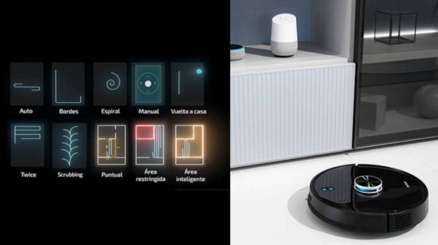 Conga 4090: the robot with laser mapping for vacuuming and scrubbing the home, now 58% off