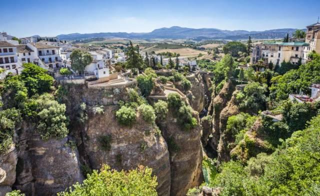 Tajo de Ronda, en la provincia de Málaga.