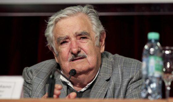 Pepe Mujica, este lunes en Buenos Aires.