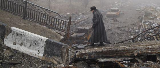 Donetsk, en el este de Ucrania