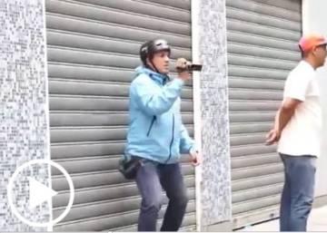 """""""¡Métele plomo!"""", la agresión a Chuo Torrealba, líder opositor de Venezuela"""