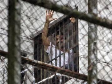 Leopoldo López en prisión en una imagen de 2014.