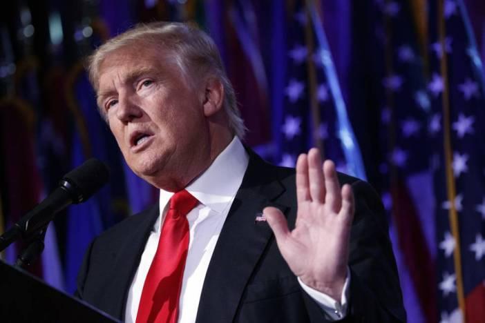 Donald Trump, el pasado miércoles
