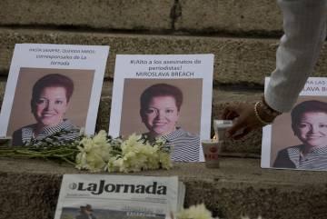 Balas para frenar periodistas en México