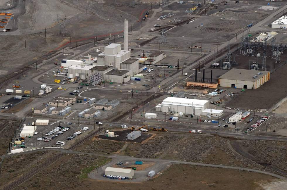 Vista del complejo nuclear de Hanford, en el Estado de Washington.