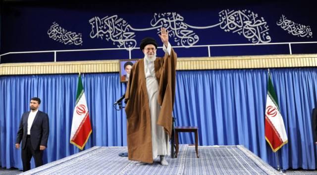 El ayatolá, Ali Jameneí.