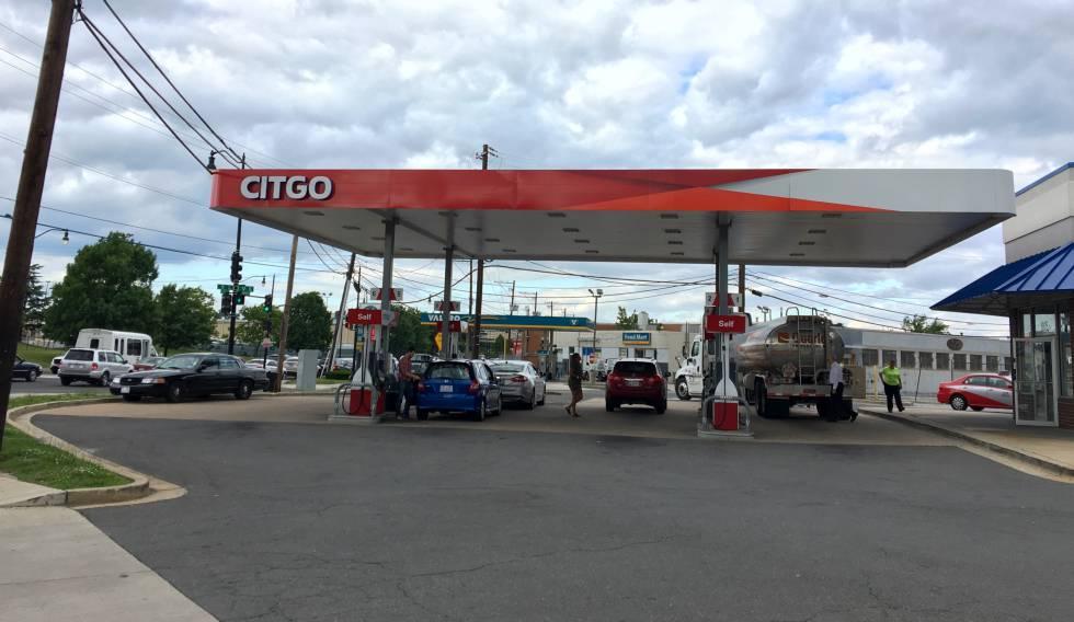 La gasolinera de Citgo en el noreste de Washington, el pasado viernes