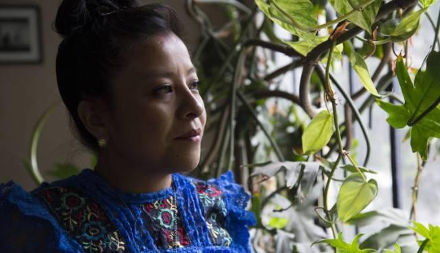Mónica del Carmen, actriz, 35 años.
