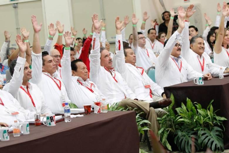 La Asamblea del PRI en Campeche.
