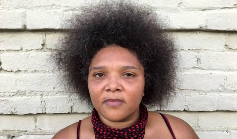 Candice, de 38 años, integra la organización Black Lives Matter (Las vidas negras importan)