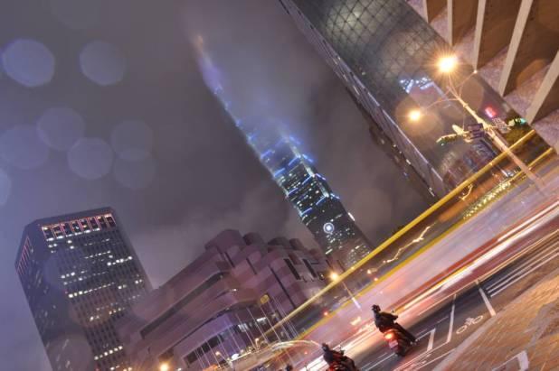 Torre Taipei 101, el edificio más alto de Taiwán. Sufrió las consecuencias del apagón masivo que en verano dejó parte del país sin suministro eléctrico durante horas.
