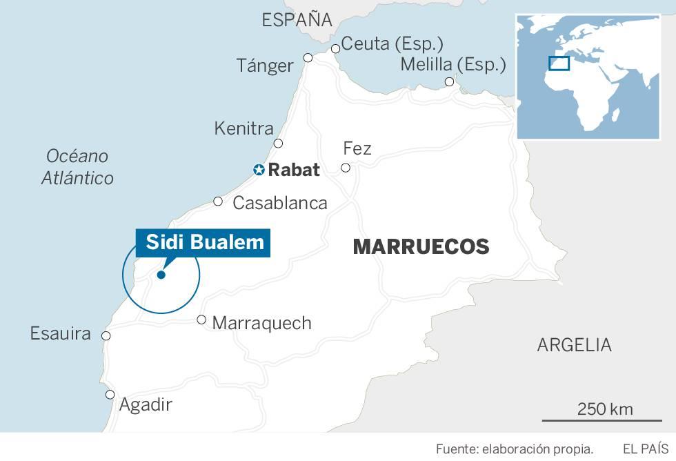 Al menos 15 muertos en Marruecos en una estampida durante el reparto de ayuda alimentaria