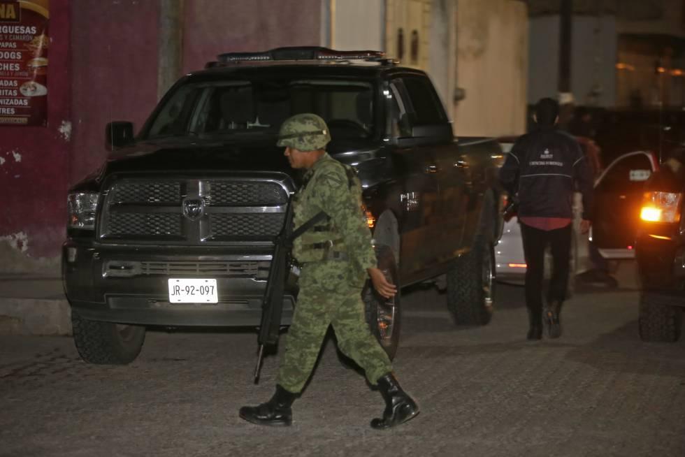 Elementos del Ejército, en Jalisco, en septiembre.