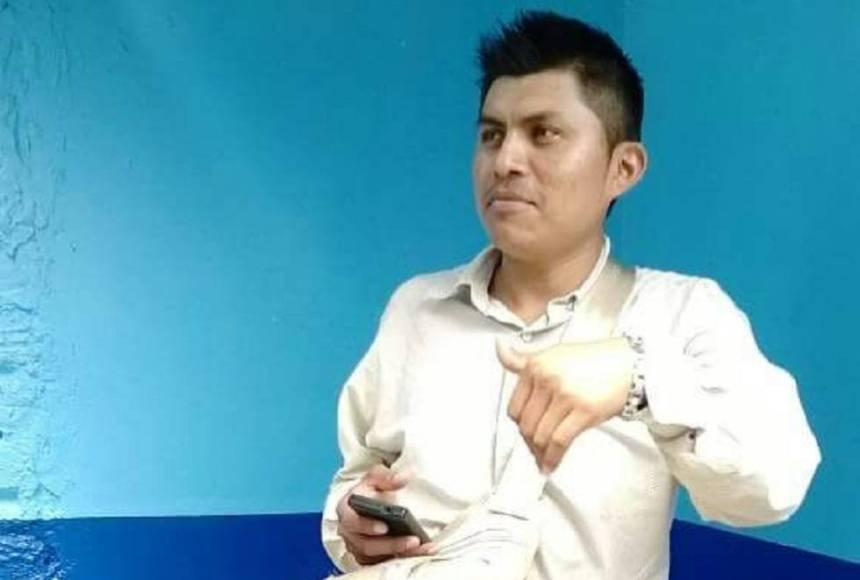 El periodista asesinado en Veracruz Gumaro Pérez.