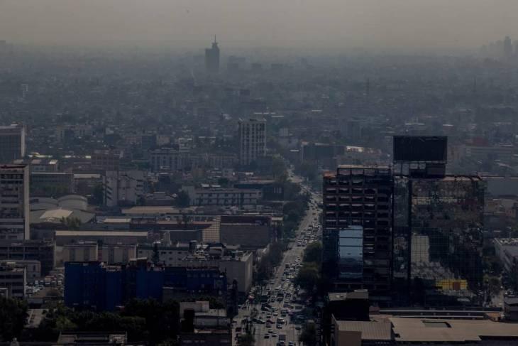 Vista de la Ciudad de México del pasado 14 de diciembre.