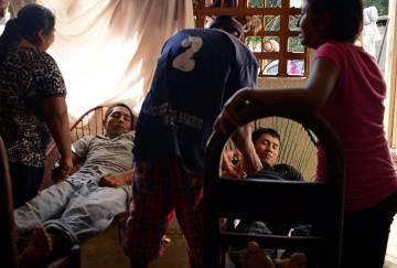 Los cuerpos de dos miembros de la CRAC tiroteados en Guerrero