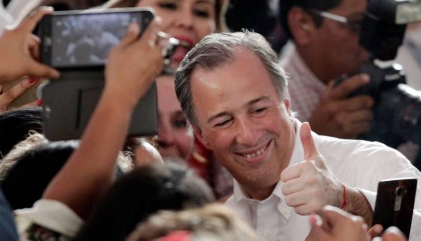 José Antonio Meade, durante un acto de campaña.