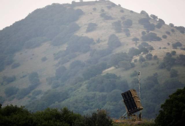 Batería antimisiles de Israel en los Altos del Golán.
