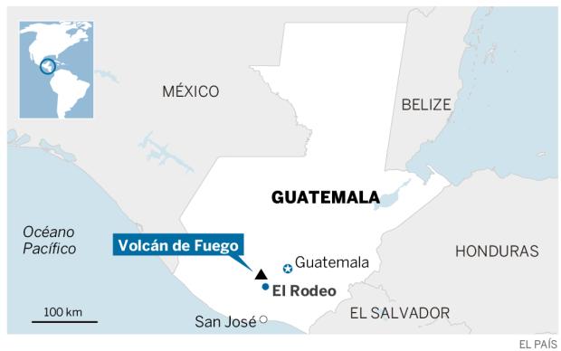 La violenta erupción del volcán de Fuego en Guatemala deja al menos 25 muertos