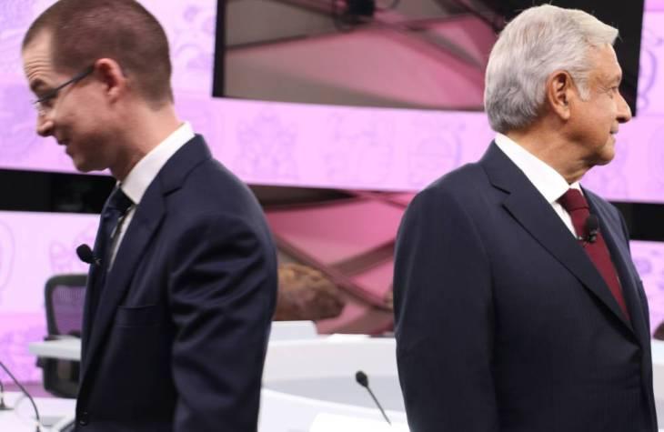 Ricardo Anaya y Andrés Manuel López Obrador.