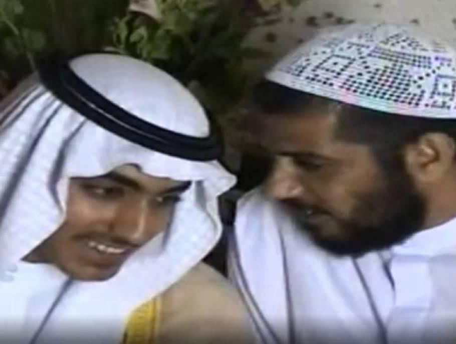 📷 Hamza bin Laden (esquerda), em documentos difundidos pela CIA. | CIA/AP