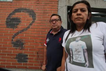 José Gregorio Pernalete y Elvira Llovera, padres de Juan Pablo Pernalete.