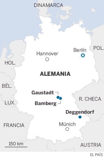 La xenofobia en Alemania se topa con la Iglesia