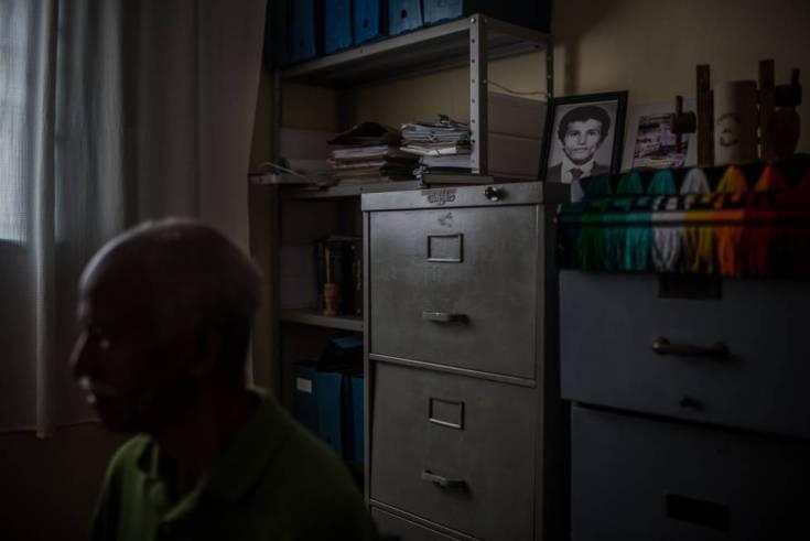 Ernesto (nombre ficticio), un vecino que acusa al padre de Jair Bolsonaro de racista