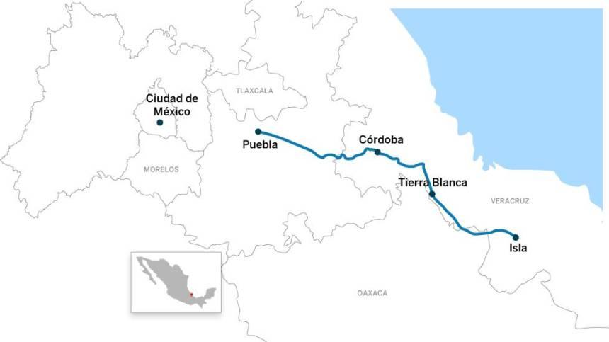 En los 375 kilómetros que separan Puebla de Isla ocurrieron los eventos denunciados por los migrantes.