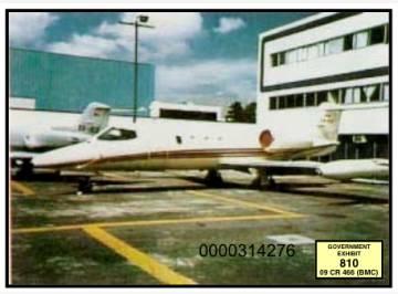 El LearJet 36 de El Chapo