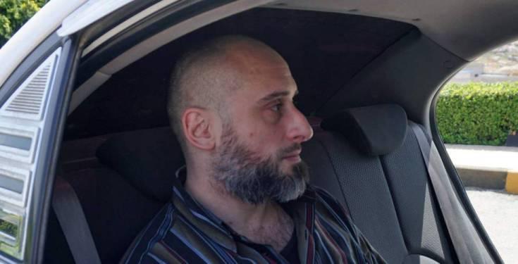 El italiano Alessandro Sandrini, el miércoles en Idlib tras el anuncio de su liberación.